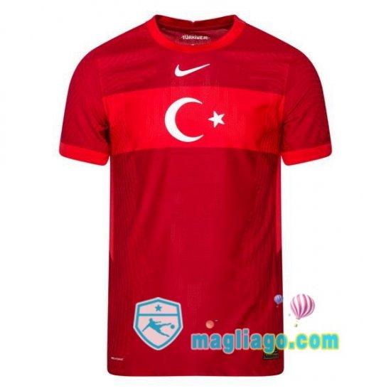 Nazionale Maglia Turchia Seconda 2020/2021 nel 2021   Maglia ...