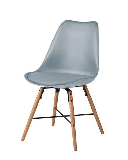 silla de comedor emil gris