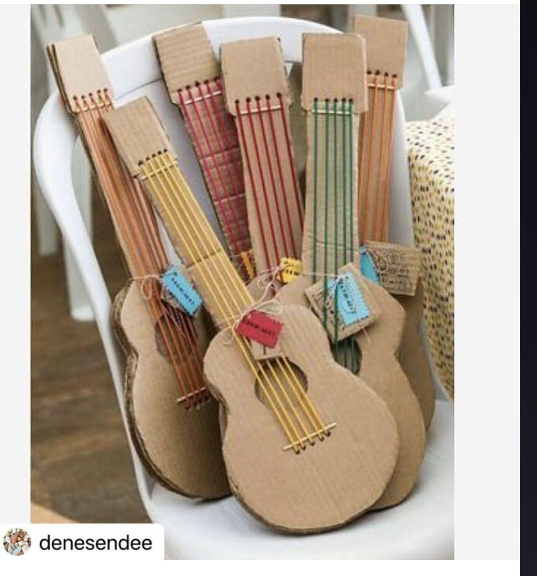 Decorate Own Balsa Wood Ukulele Music Crafts Diy Instruments Toddler Crafts