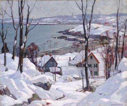 Aldro Thompson Hibbard American 1886 1972 Rockport In Winter