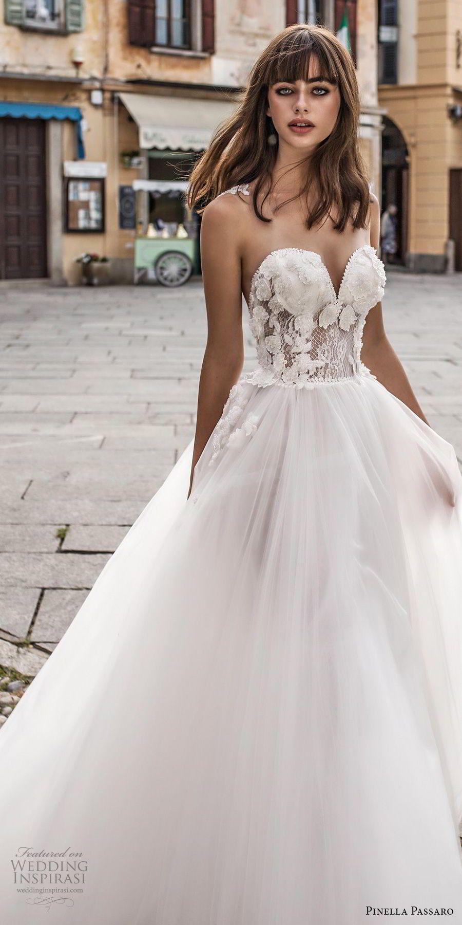 Pinella Paro 2018 Wedding Dresses