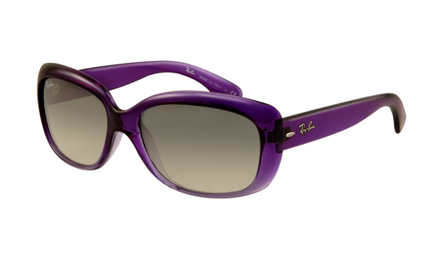 Ray Ban Rb4101 Jackie Ohh Sunglasses Purple Frame Crystal Brown Ray Ban Sunglasses Ray Ban Sunglasses Outlet Ray Bans