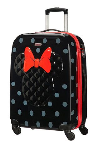 d1b9885b8d9 Now this is my ideal luggage! Minnie Mouse Samsonite!!! | Bag ...