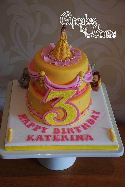 Belle birthday cake Belle cake Belle and Cake