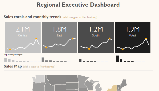 Tableau Regional Dashboard Google Search Executive Dashboard Dashboard Design Dashboard