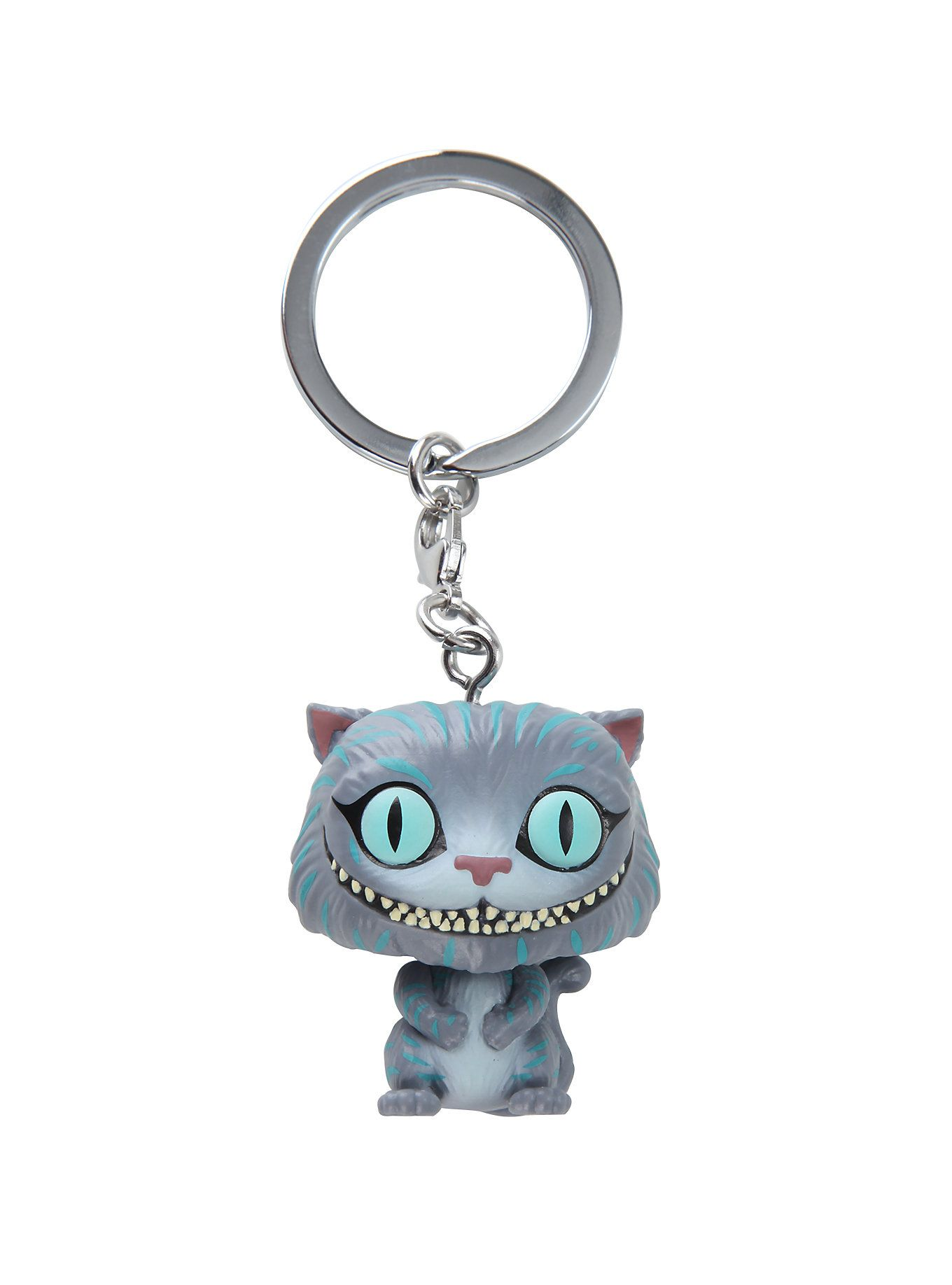 0c2835cb8 Funko Disney Alice In Wonderland Pocket Pop! Cheshire Cat Key Chain Hot  Topic Exclusive,