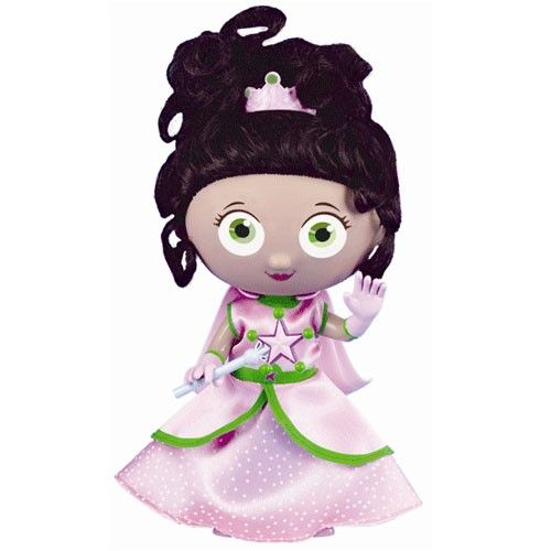 Super Why Style And Pose Princess Presto Doll From PBS