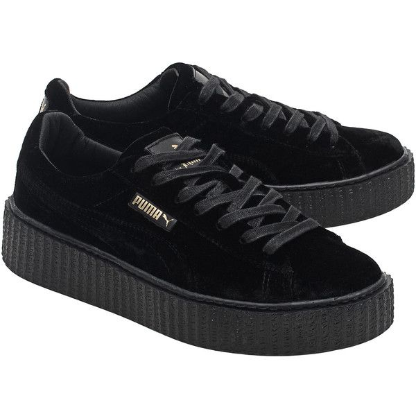 the best attitude 4e7c1 bc555 Fenty x Puma by Rihanna Creeper Velvet Black // Platform ...