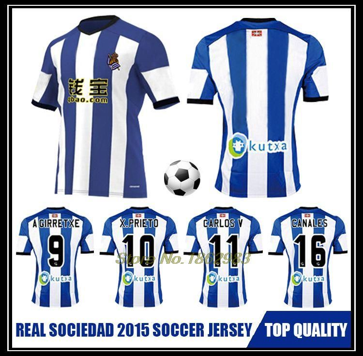best service cc25c 1f7fb Online Buy Wholesale jerseys real sociedad kids from China ...