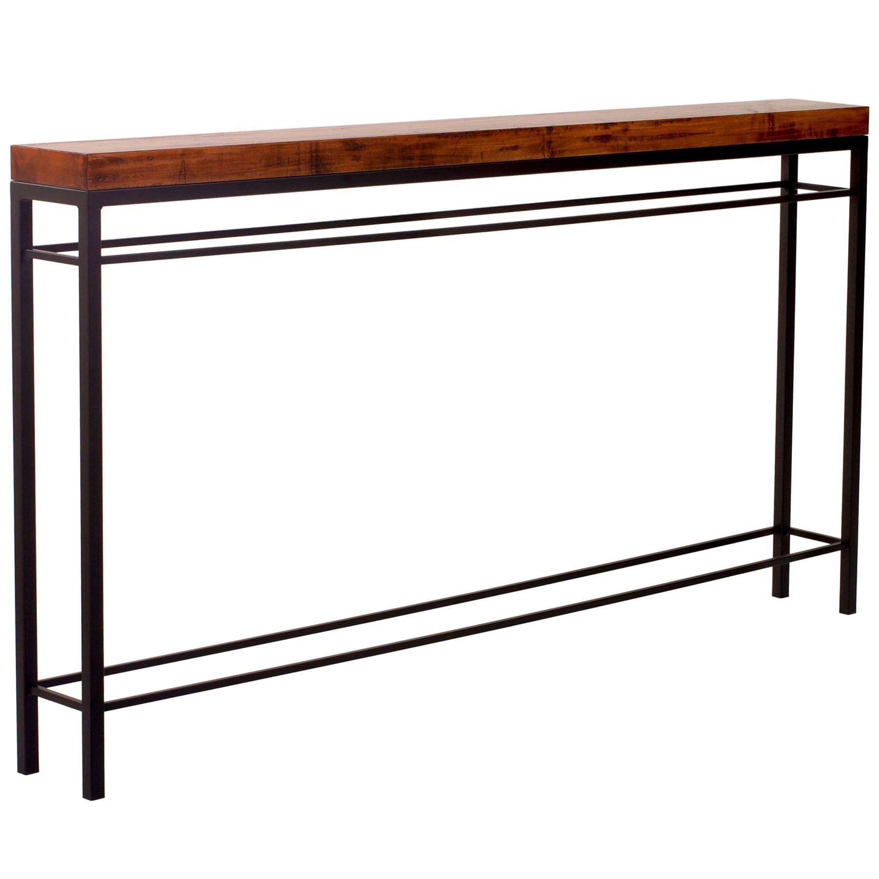 Newhart 70 Wrought Iron Console Table Charleston Forge Iron Console Table Steel Console Table Wrought Iron Console Table