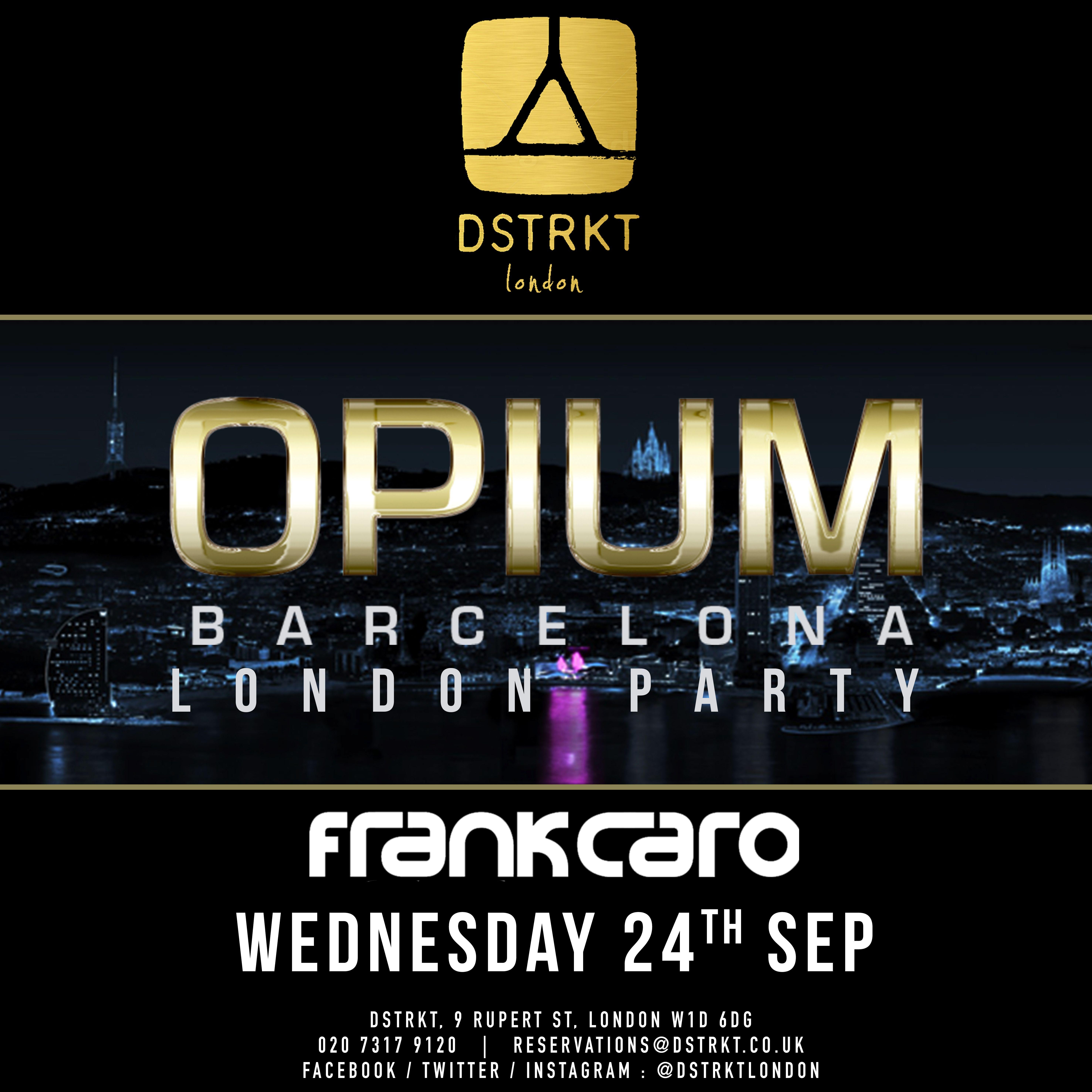 Join Team DSTRKT on WEDNESDAY 24rd September for the