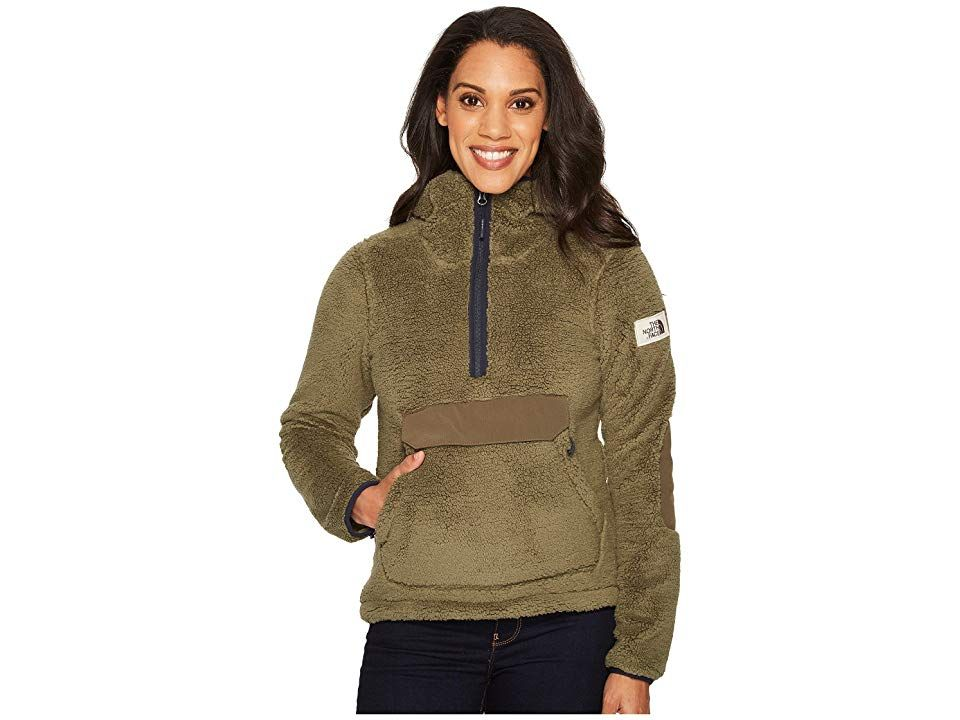 e1afd6726f The North Face Campshire Pullover Hoodie (Four Leaf Clover) Women s  Sweatshirt. Comfort and warmth is the name of the game when you re looking  for something ...