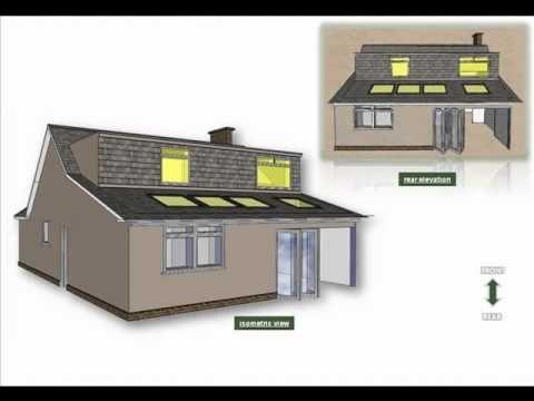 Dormer House Extension Plans Bungalow Loft Conversion Bungalow Extensions