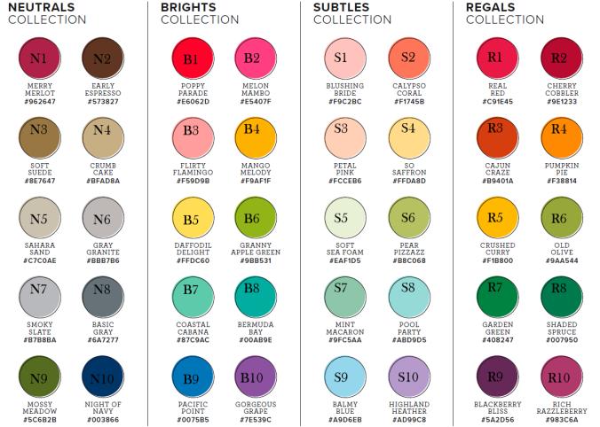 2019-2020 Color Wheel!   Monochromatic color scheme, Color ...