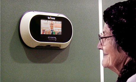 Brinno Digital Peephole Viewer | Marriage | Pinterest | Front door ...