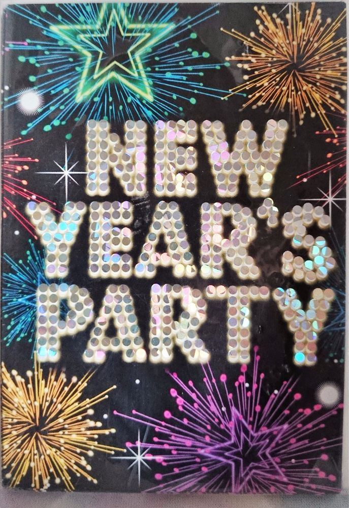 New Year s Party Invitations 3 Packs of 8 New Year Party Invites ...