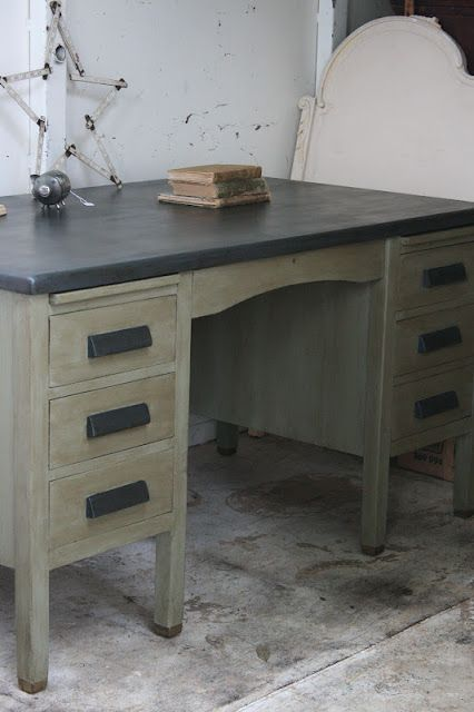 Brilliant Reloved Rubbish Vintage Teachers Desk For The Home Old Interior Design Ideas Inamawefileorg