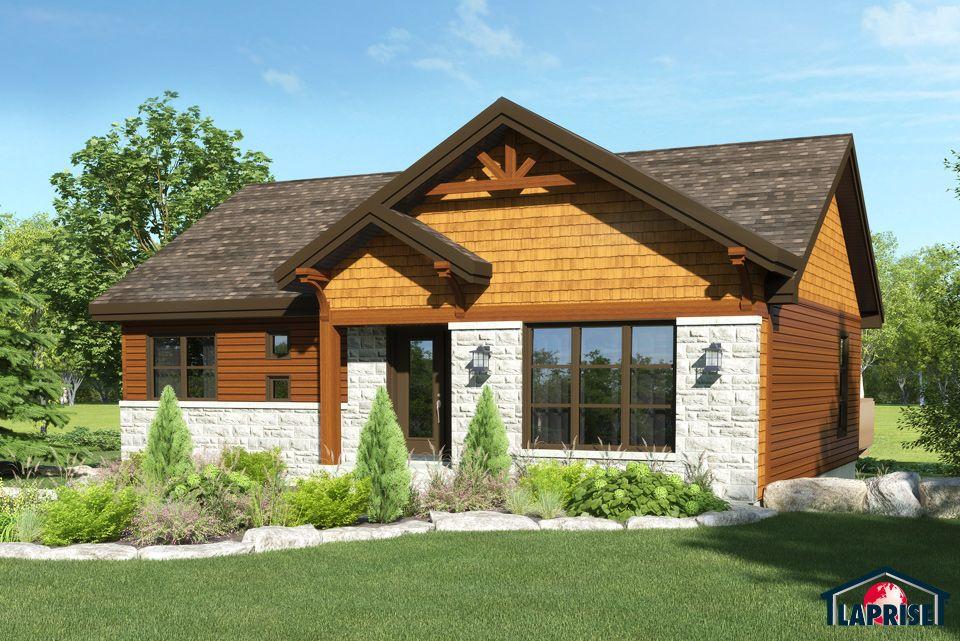 champ tre bordure de lac chalet lap0378 maison laprise maisons pr usin es mod le