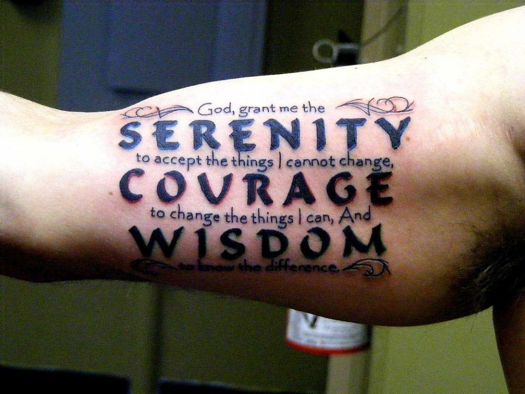 50 serenity prayer tattoo designs with images serenity