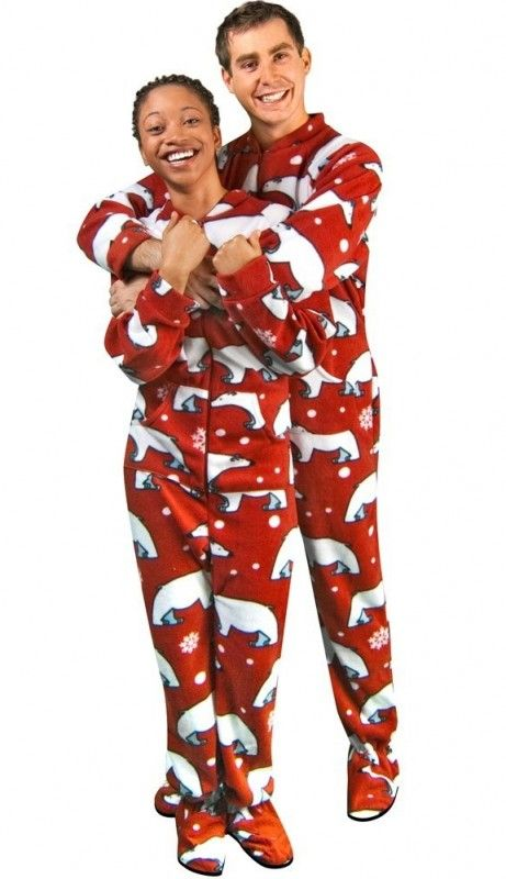 Funny Adult Christmas Pajamas Family Clothes
