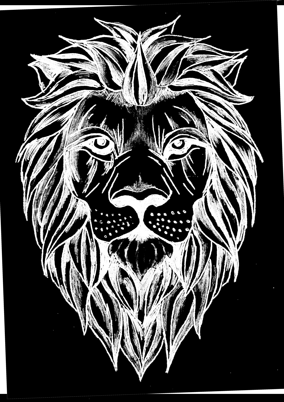 Shaded Lion Tattoo Design Lion Tattoo Design Tattoo Designs Lion Tattoo