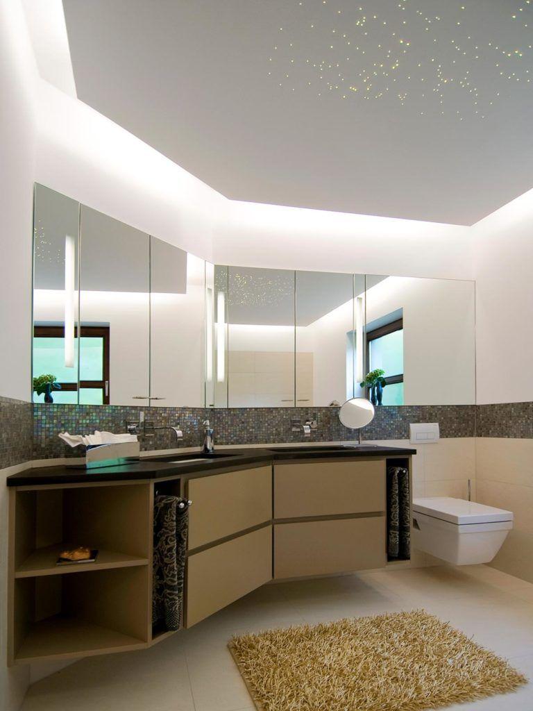 Sternenhimmel Im Bad Badsanierung Mit Hans Schramm Badsanierung Deckenleuchte Bad Neues Badezimmer
