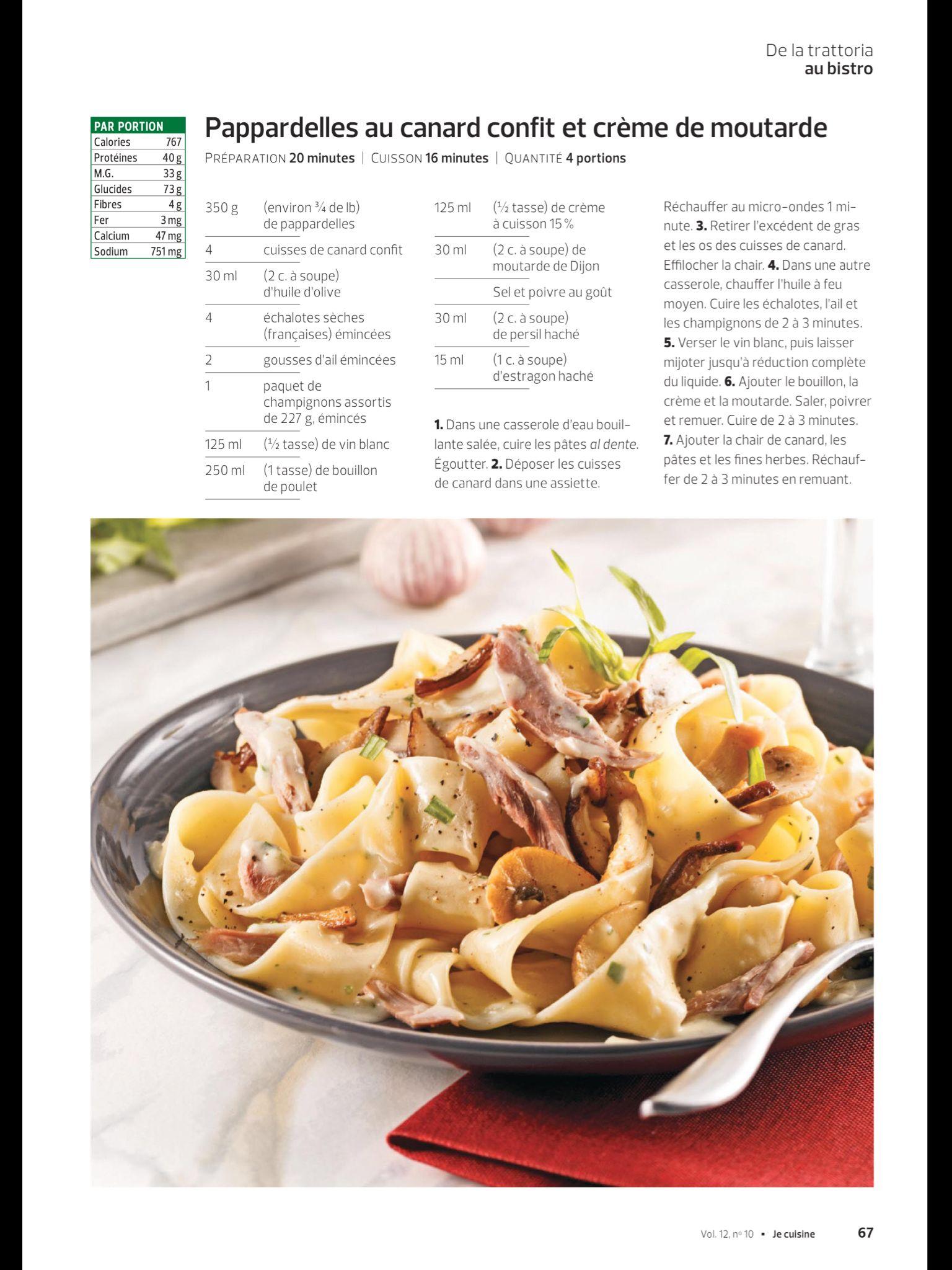 De La Trattoria Au Bistro De JE Cuisine Février Lisezle - Appli cuisine