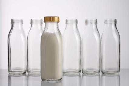 Antique Milk Bottles Lovetoknow Milk Bottle Glass Bottle