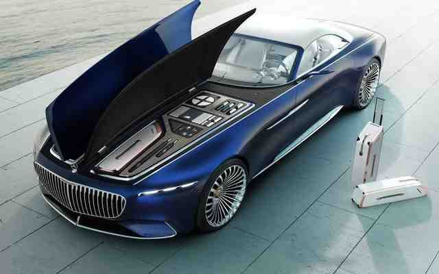 Mercedes Benz Vision Maybach 6 Cabriolet Concept 2019 Luxo