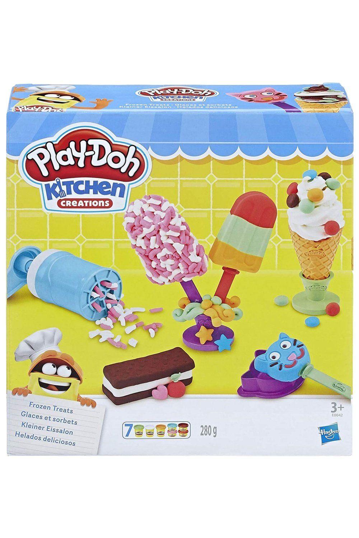 Play Doh Kitchen Creations Frozen Treats Set In 2021 Play Doh Kitchen Play Doh Frozen Play Doh