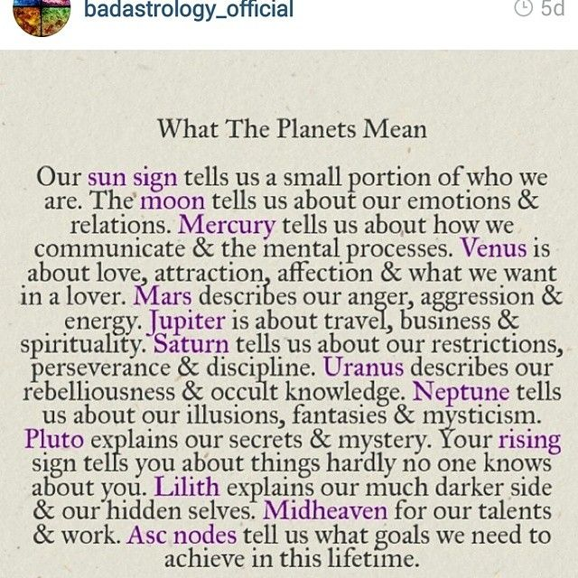 Instagram media 29for29 - #meaning_of #planets #sun_sign