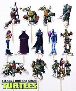 Details about 12 Teenage Mutant Ninja Turtles Birthday Party Cupcake ...