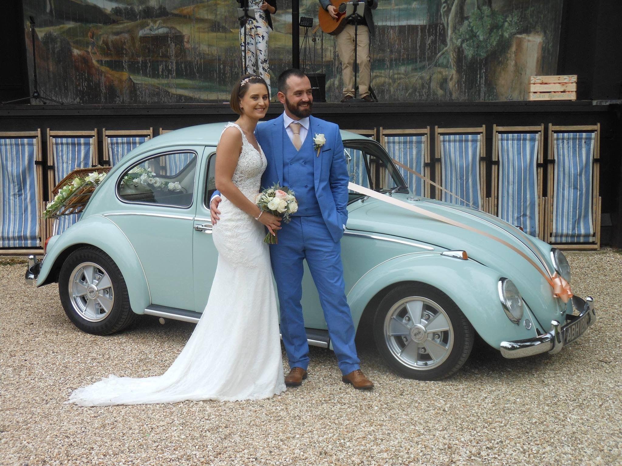 VW Beetle wedding car | Classic VW wedding transport | Pinterest ...