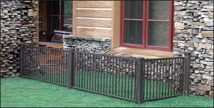 A Dog Run With A Patio Where My Dogs Can Be Safe And