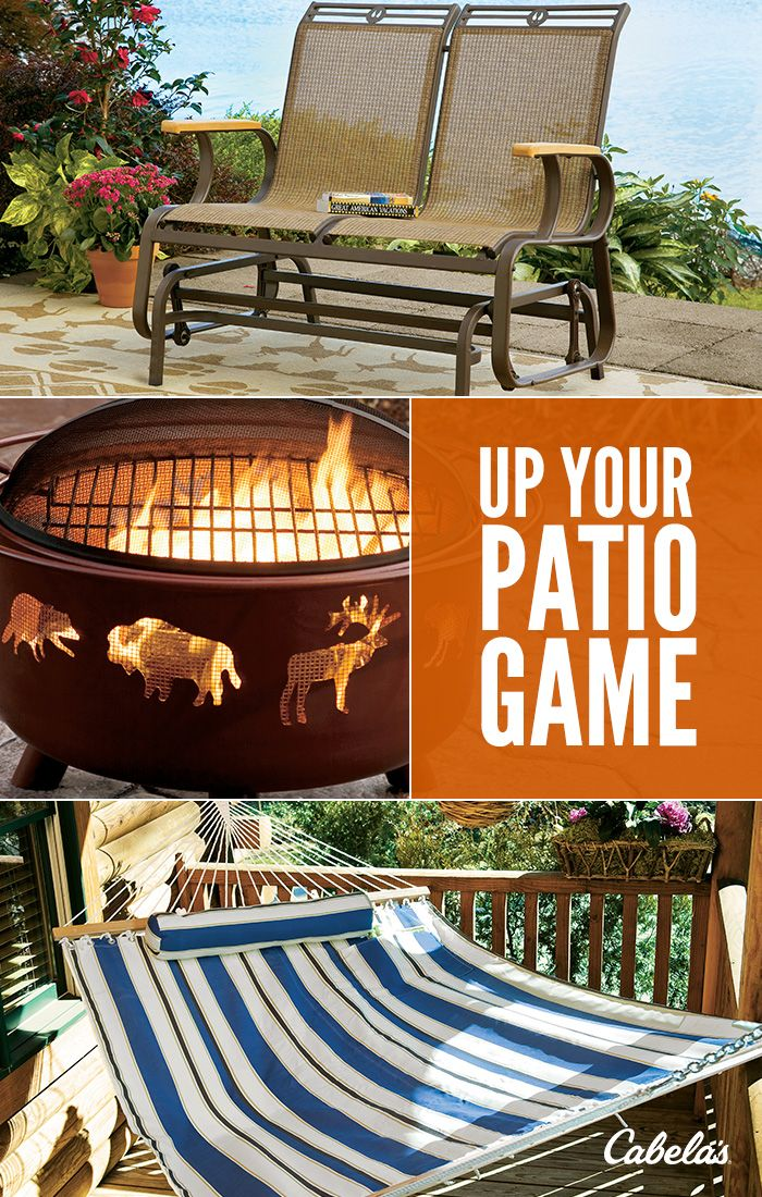 Bring the great outdoors to you with Cabela's Outdoor Decor. | Outdoor, Patio games, Summer patio