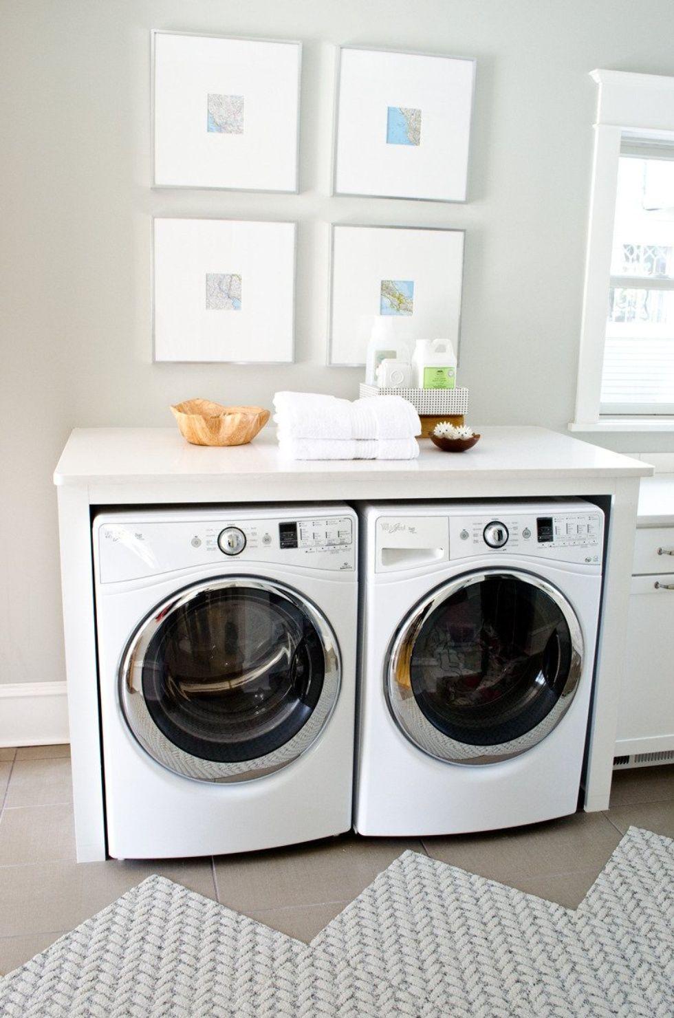 Fresh Washer Dryer Cabinet Enclosures