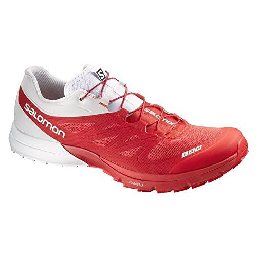 6df8fee7acab Salomon SLab Sense 4 Ultra Running Shoe Mens Racing Red 115     You can  find out more details at the link of the image.(This is an Amazon affiliate  link and ...