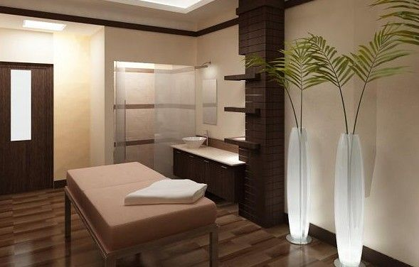 Massage room design ideas and examples