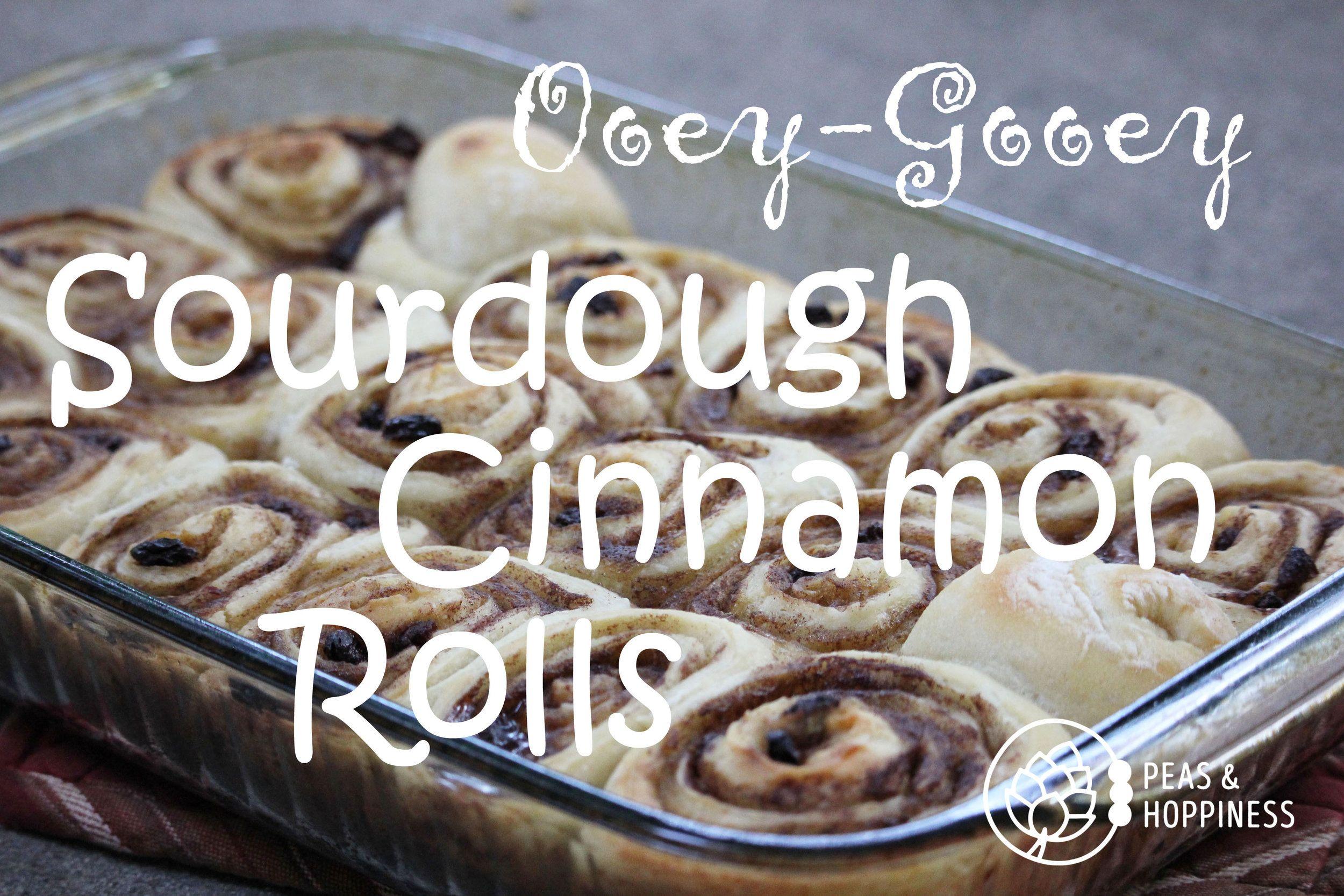 Ooey-Gooey Sourdough Cinnamon Rolls — Peas & Hoppiness by Ann Scheufler Kent