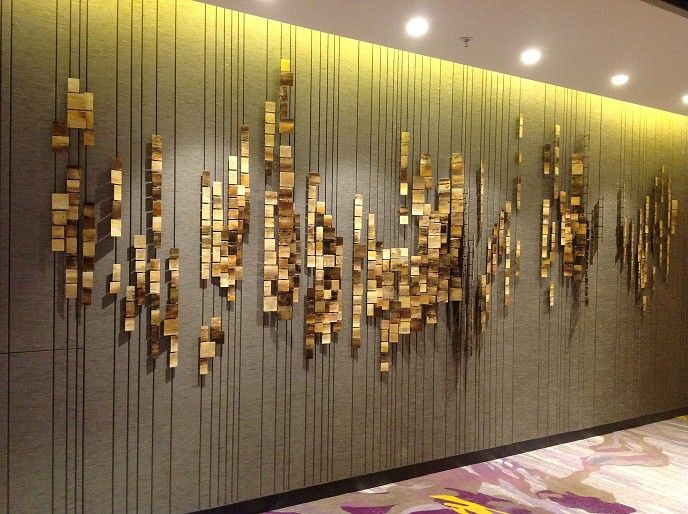 Crowne plaza hong kong kowloon east three dimensional for Hotel wall design