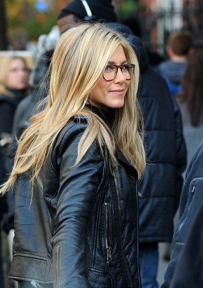 The shiny Jennifer Aniston