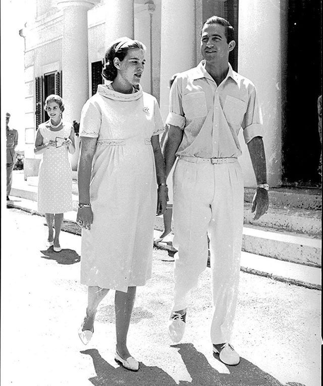 Real Greek Weddings: June 1965 , Day Before Princess Alexia Was Born , In Mon