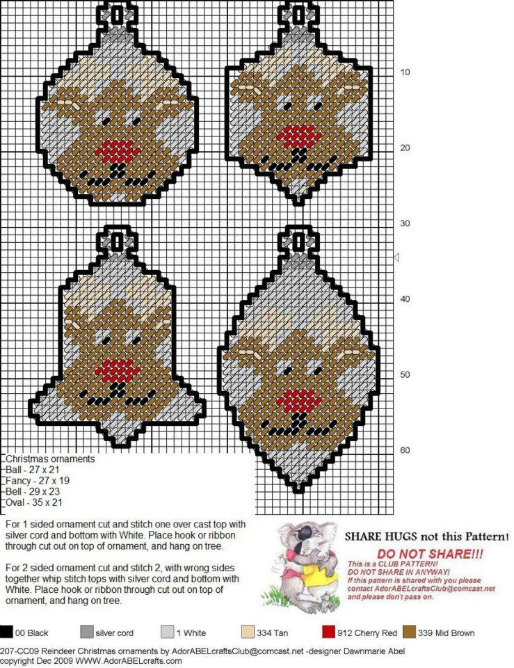 Pin By Cathy Brookover On Christmas Ornaments Plastic Canvas Patterns Canvas Patterns Plastic Canvas Christmas