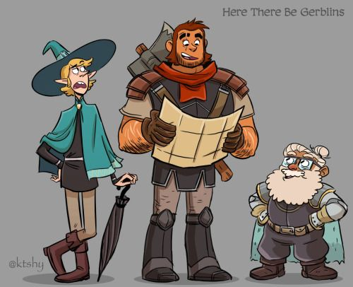 Finally Got All The Adventure Boys Together Taako Magnus
