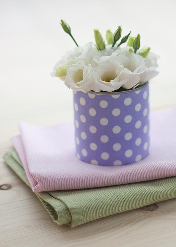 #DIY can vase