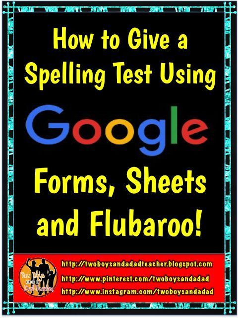 How to Give a Spelling Test Using Google Forms - spreadsheet google form
