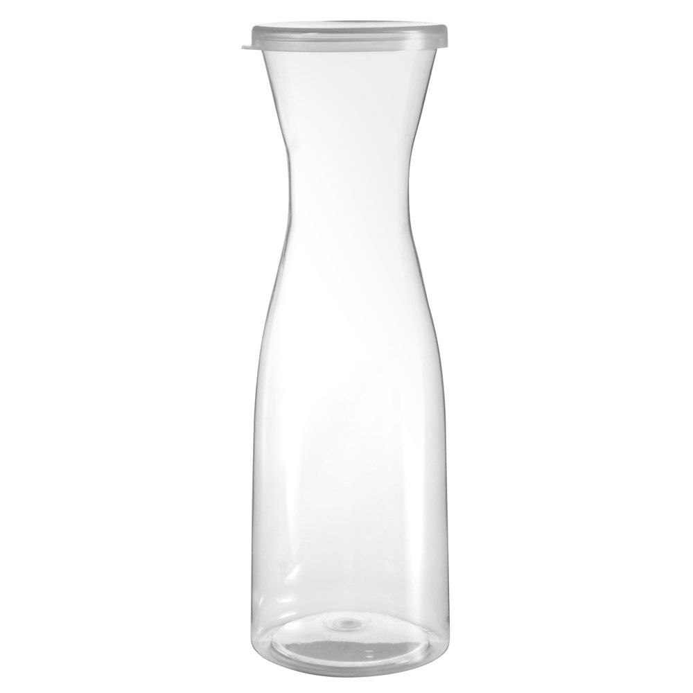 Fineline 3420 Cl Platter Pleasers 20 Oz Clear Plastic Carafe With