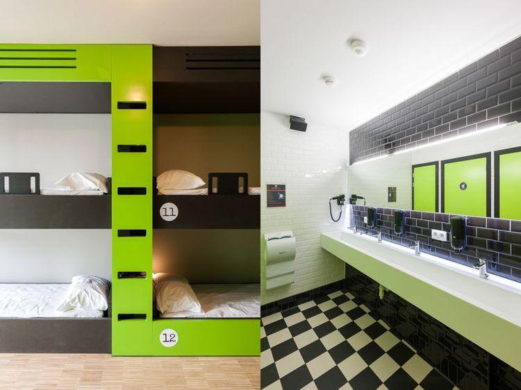 Hostel Room Interior Design