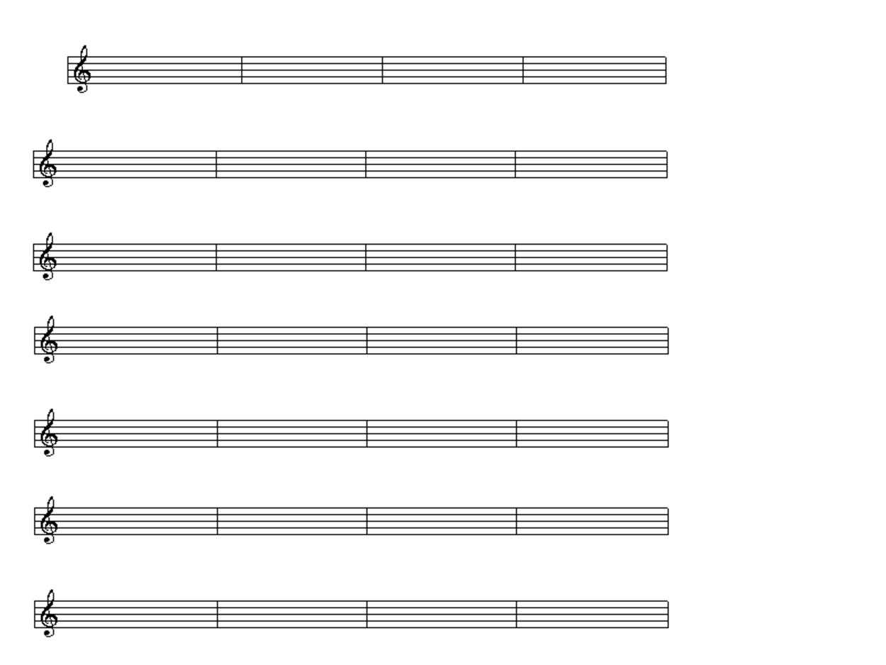 blank piano music sheets