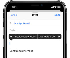 How To Send Large Email Attachments On Iphone And Ipad Write An Email Iphone Email Service